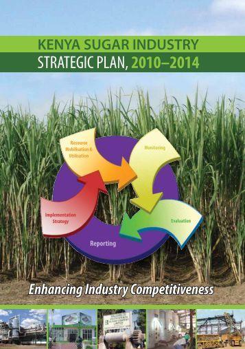 STRATEGIC PLAN,2010–2014 - Kenya Sugar Board