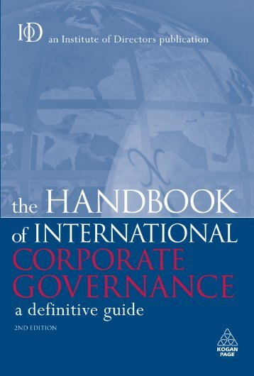 Profiles of Corporate Governance in Leading Countries ... - Torys