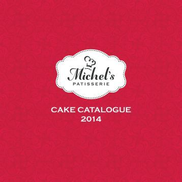 Michel's Cake Catalogue 2014