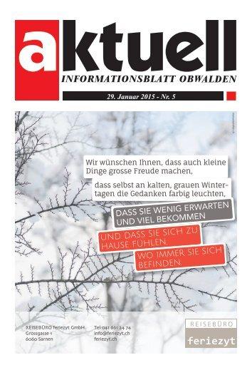 Aktuell Obwalden 05-2015