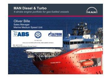 MAN Diesel & Turbo Oliver Bille