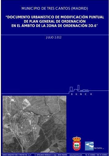 documento urbanístico de modificación puntual de plan general de ...