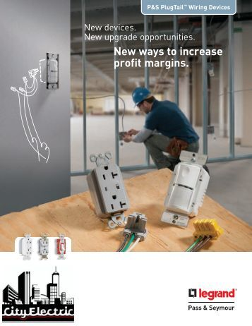 PlugTail™ Wiring Devices - by Legrand