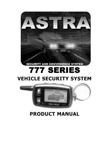 K Classic E Car Alarm Manual