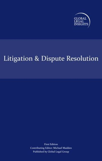 Litigation & Dispute Resolution - ELIG Attorneys at Law