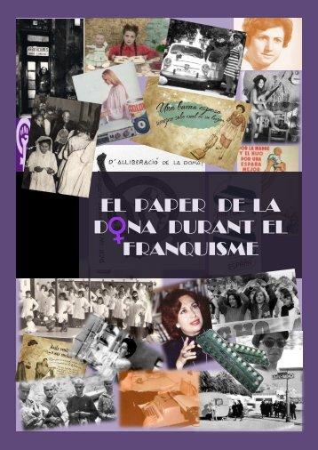 EL PAPER DE LA D NA DURANT EL FRANQUISME - Premis ...