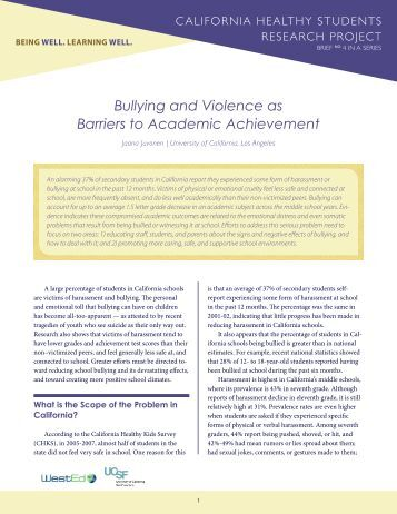 an analysis of bullying among children The present study aimed to recognize bullying behavior in the students in iran and analyze the perception of school teachers and parents in this regardseveral semi-structured interviews and observations were conducted with four teachers and eight parents of children involved in bully/victim problems and the analysis was.