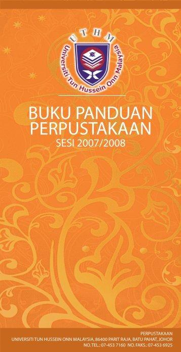 panduan thesis uthm Panduan pembangunan bahan pengajaran bertulis (wim) dan penilaian berterusan jabatan pembangunan kemahiran kementerian sumber manusia tahun 2013.