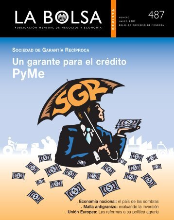 marzo 07 - Bolsa de Comercio de Mendoza