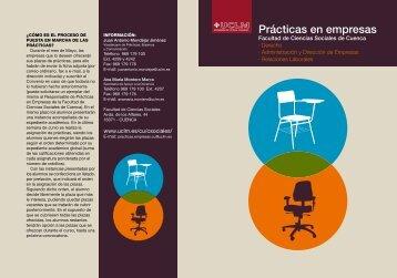 Prácticas en empresas - Universidad de Castilla-La Mancha