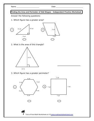 Dilations worksheet math drills