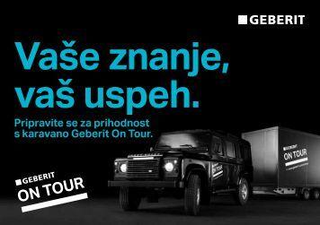 Pripravite se za prihodnost s karavano Geberit On ... - Tapro Trgovina