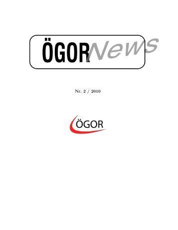 ÖGOR News Nr. 2/2010 - Österreichische Gesellschaft für ...