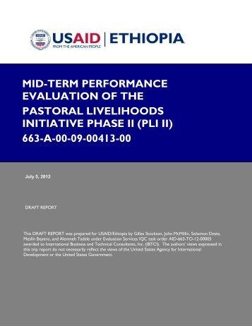 Mid Term EVALUATION PLI II project - CARE International's ...
