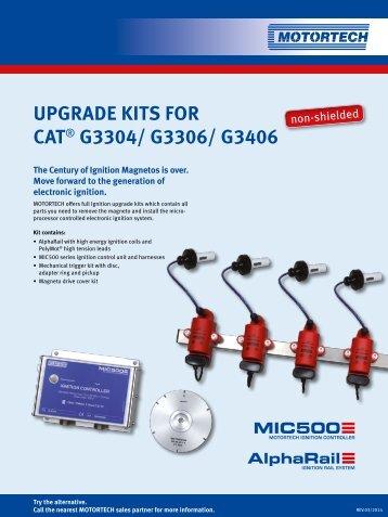UPGRADE KITS FOR CAT® G3304/ G3306/ G3406 - Motortech GmbH