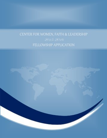 2015-2016_CWFL_Fellowship_Application