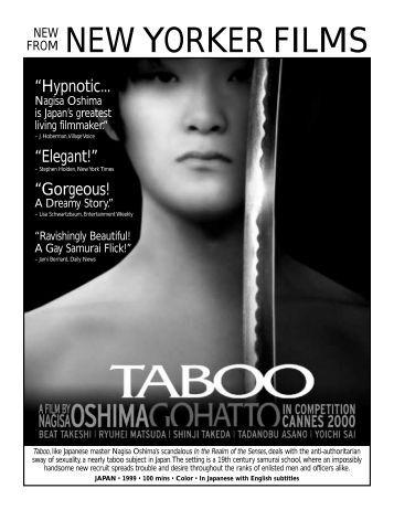 Taboo - New Yorker Films