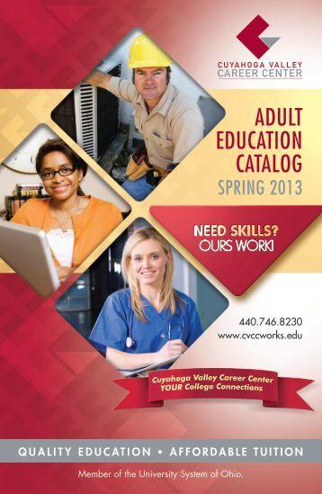 Adult Education Catalog 38