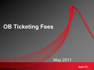 OB Ticketing Fees
