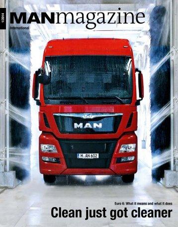 MANmagazine Truck edition 1/2014