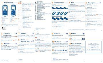 Manual de usuario Alcatel OT 208
