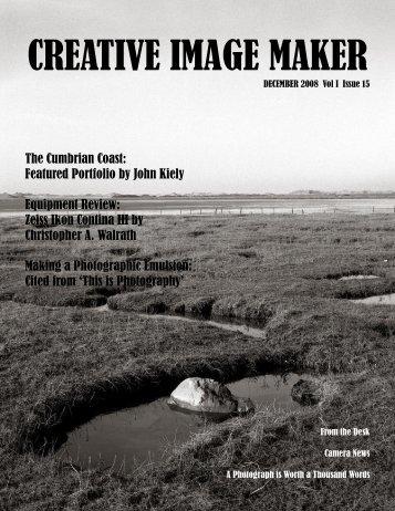 CREATIVE IMAGE MAKER MAGAZINE - 1