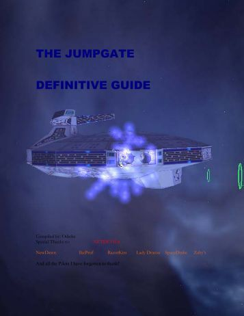 THE JUMPGATE DEFINITIVE GUIDE - Tripod