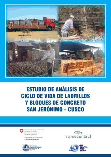 estudio de análisis de ciclo de vida de ladrillos y bloques de ...