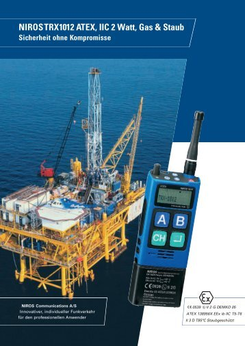 NIROS TRX1012 ATEX, IIC 2 Watt, Gas & Staub Sicherheit ohne ...