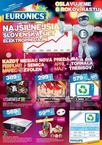 V CENE - Euronics SK