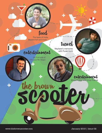 The Brown Scooter - January Edition