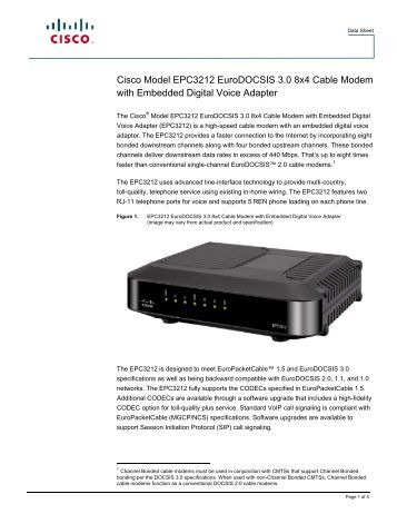 cable modem data sheet Ac1750 wifi cable modem router data sheet page 3 of 5 c6300 use push 'n' connect to add devices to your wifi network with a push of a button and the simple.