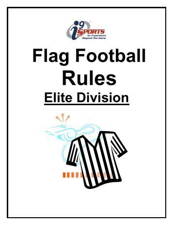 i9 Sports Flag Football Rules