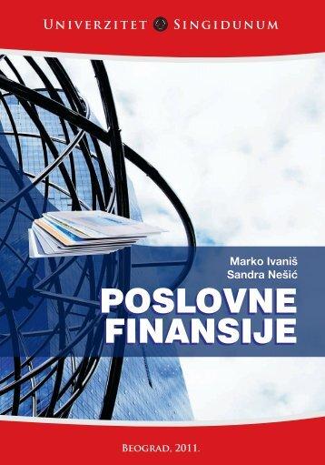 Poslovne finansije.pdf - Seminarski-Diplomski.Rs
