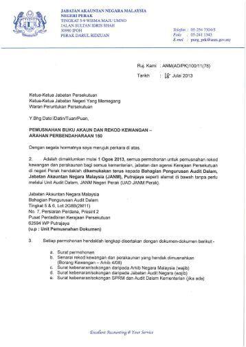 Format Surat Rasmi Ke Jabatan Kerajaan Rasmi Sub