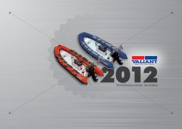 Valiant DR Inflatable Boats - Marina Marbella