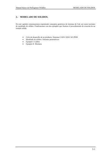 2-1 2.- MODELADO DE SOLIDOS. - U-Cursos