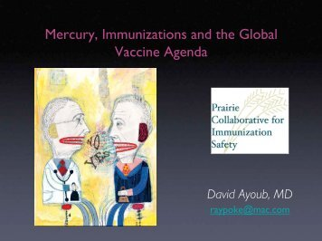 Mercury, Immunizations and the Global Vaccine Agenda - Orbis Vitae