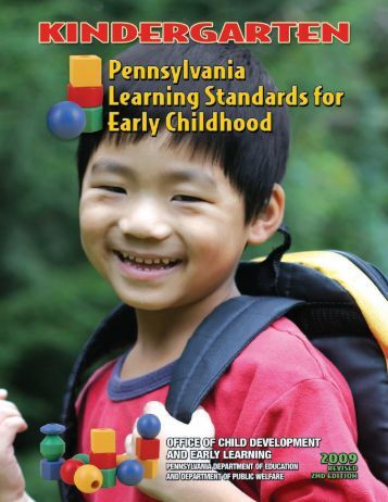 Pennsylvania Early Childhood Education Standards for - SAS