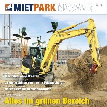 HKL MIETPARK MAGAZIN Ausgabe 02 - 2014