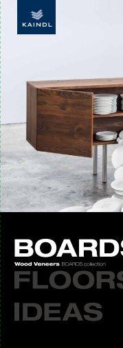 Kaindl Wood Veneers Boards collection