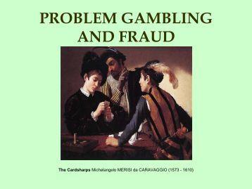 Gambling embezzlement