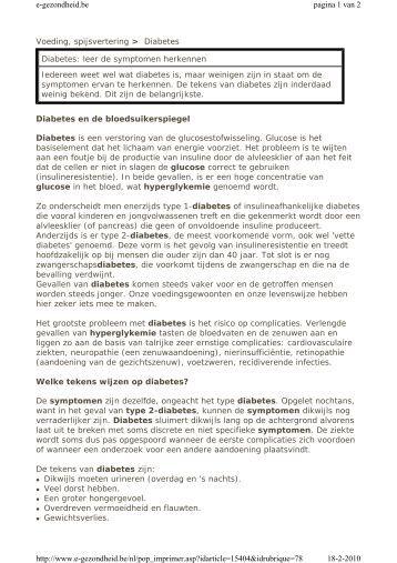 richtlijn diabetes mellitus type 1