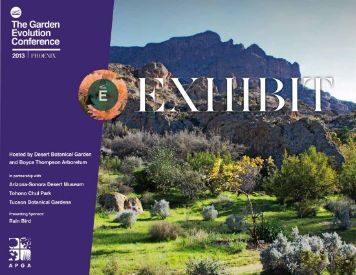 To view a print friendly pdf version of the program for American garden association