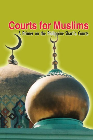 Courts for Muslim - Muslim Mindanao Website