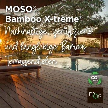 MOSO bamboo x-treme Terrassendielen - die nächste Generation