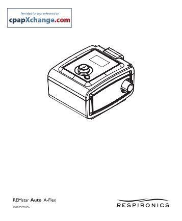 remstar auto a flex system one manual