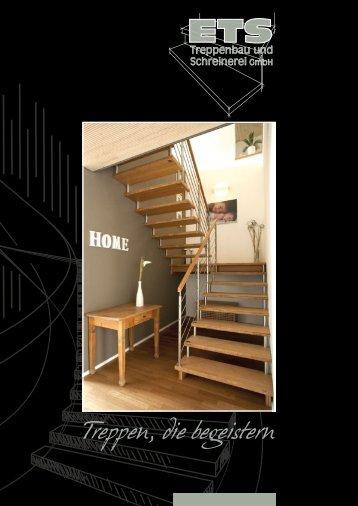 Treppen, die begeistern! Qualität mit Manufakturcharakter.