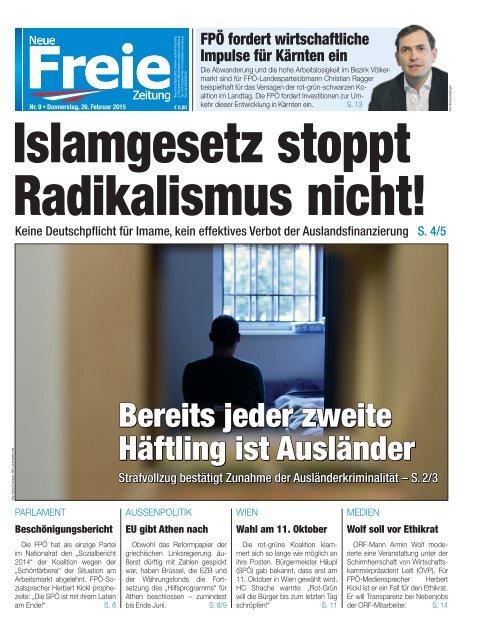 Islamgesetz stoppt Radikalismus nicht!