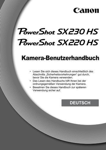 Kamera-Benutzerhandbuch - speleos.de
